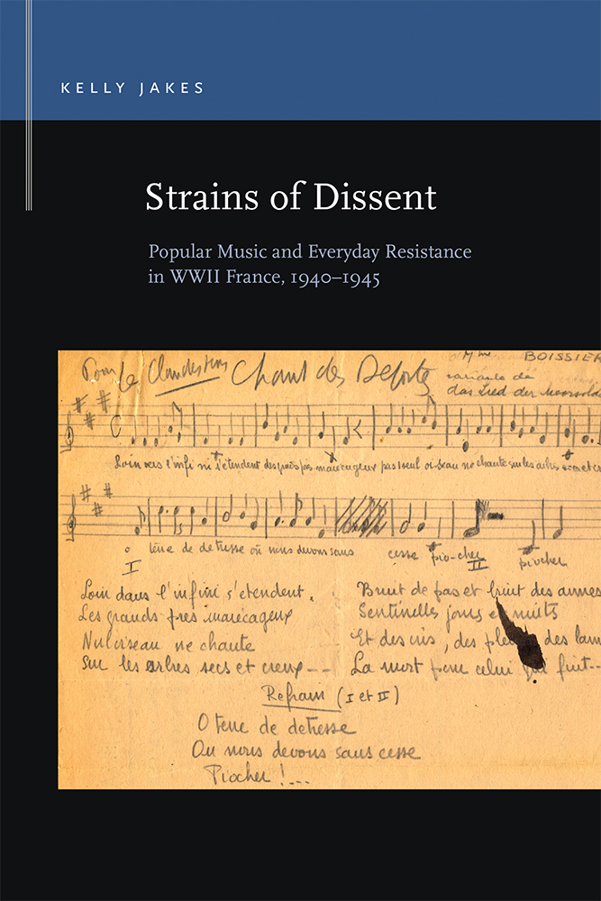 Strains of Dissent cover