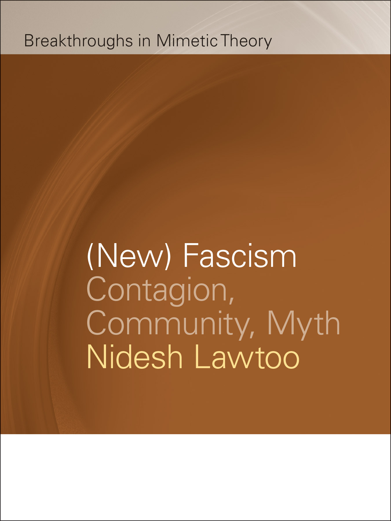 (New) Fascism cover