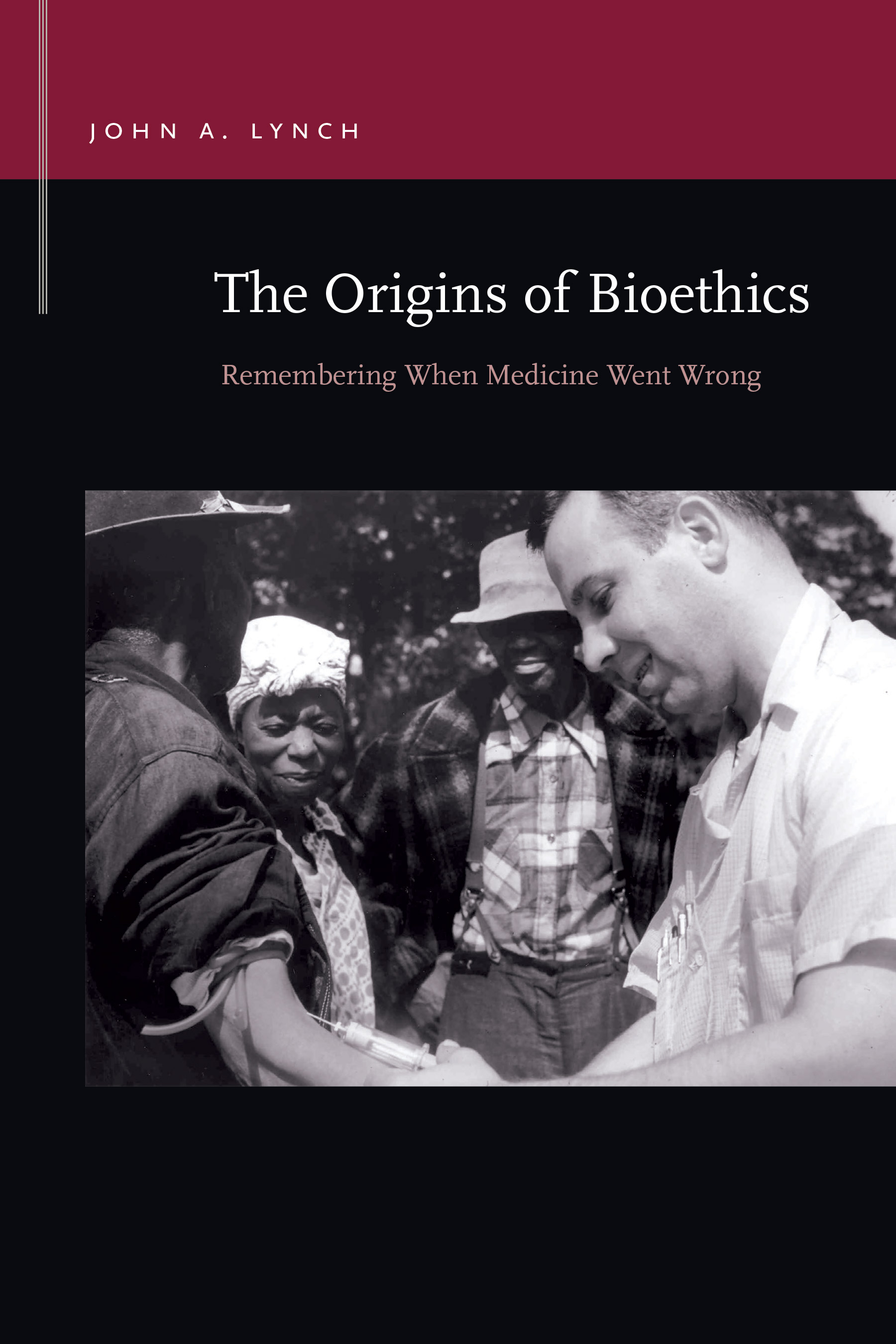 The Origins of Bioethics cover