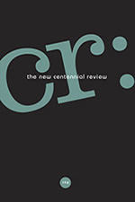 CR: The New Centennial Review 19, no. 2 cover