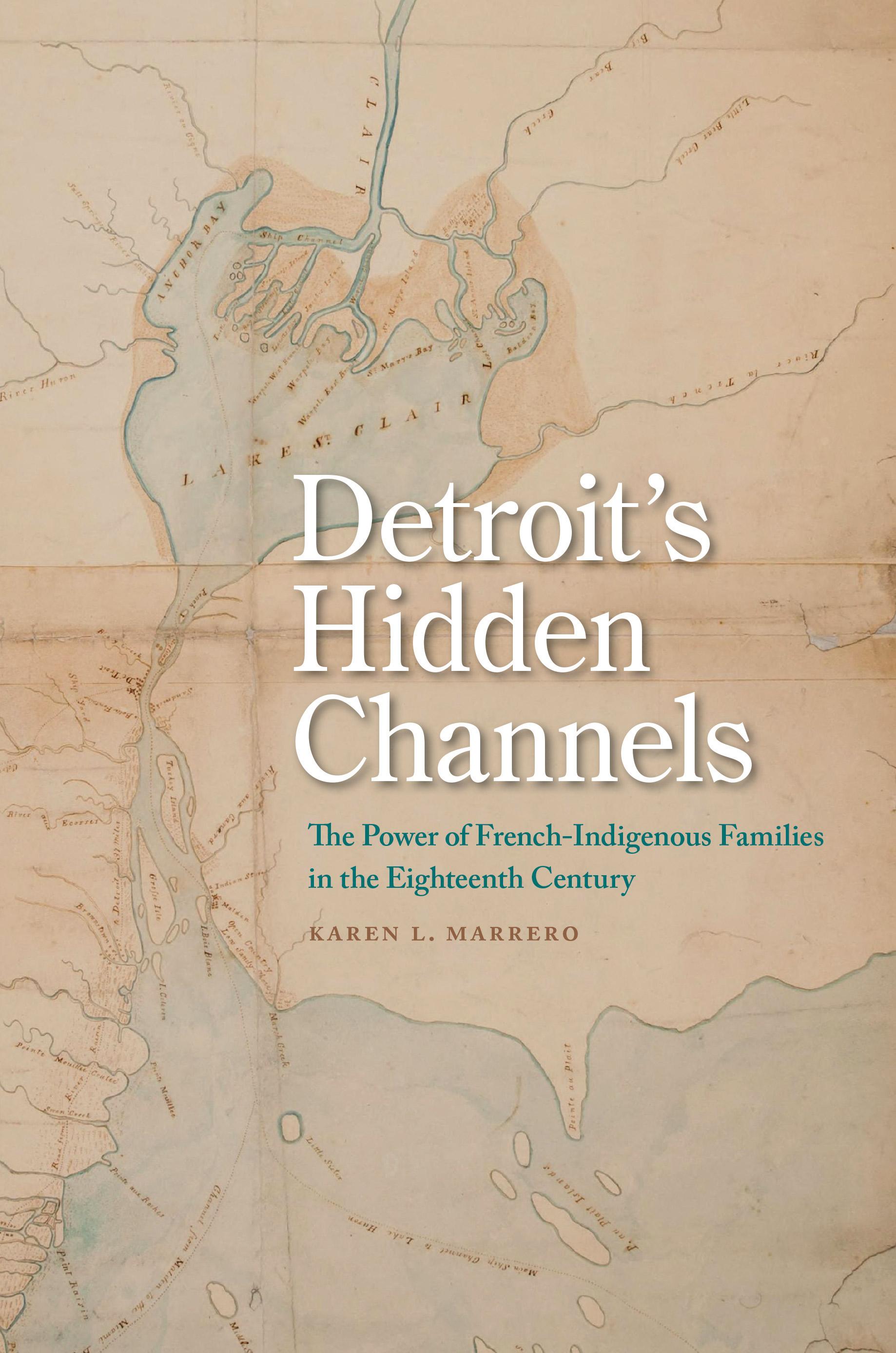 Detroit's Hidden Channels cover