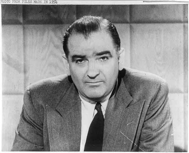 Joseph Raymond McCarthy facing front