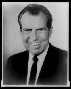 Richard M. Nixon, head-and-shoulders portrait, facing front
